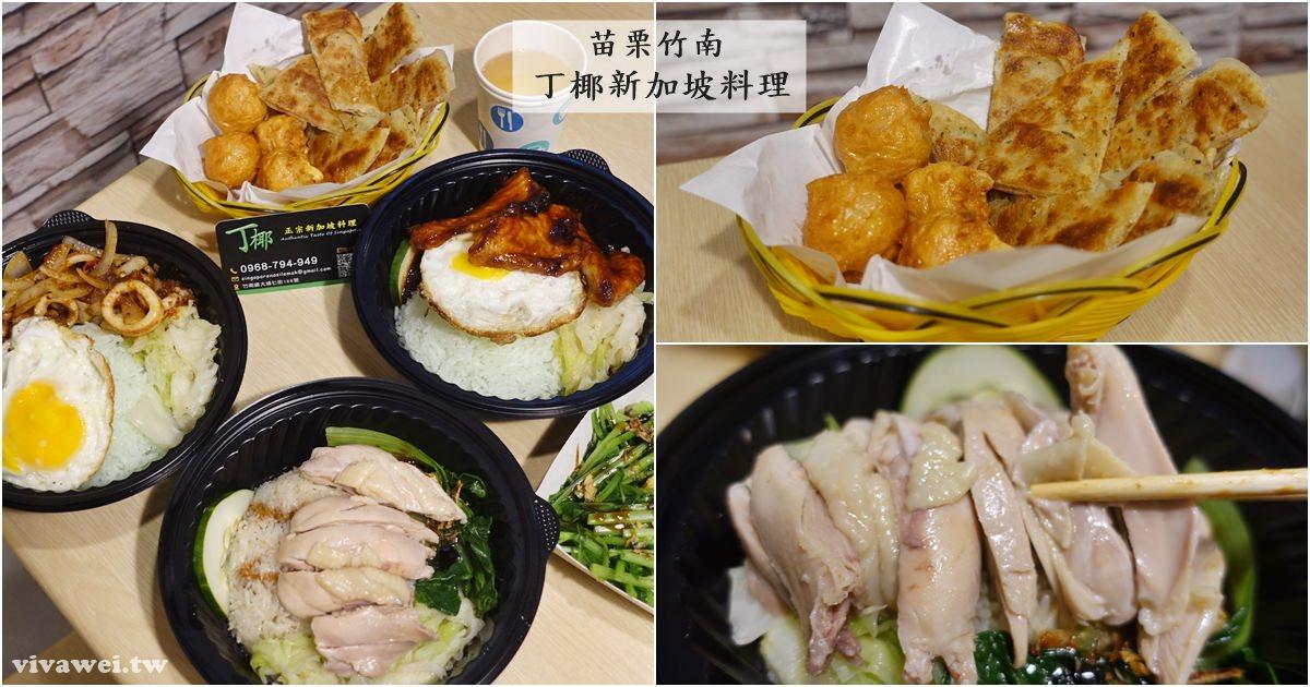 苗栗竹南美食|『丁椰新加坡料理』海南雞飯/椰漿飯/咖哩雞/叻沙-南洋口味小吃!